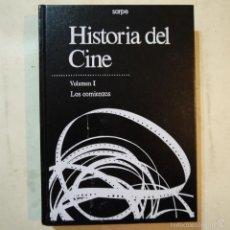Libros de segunda mano: HISTORIA DEL CINE. VOLUMEN I. LOS COMIENZOS - SARPE - 1988. Lote 56335987