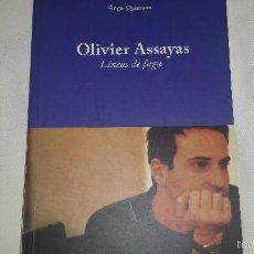 Libros de segunda mano: OLIVIER ASSAYAS - LINEAS DE FUGA- ANGEL QUINTANA FESTIVAL INTERNACIONAL DE GIJON-FILMOTECA. Lote 56372245