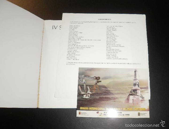 Libros de segunda mano: Libro. IV Semana de cine español (catálogo). Murcia, 1988, filmoteca regional. Postal de regalo - Foto 3 - 56557471