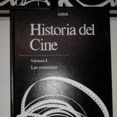 Libros de segunda mano: HISTORIA DEL CINE VOLUMEN I LOS COMIENZOS 1984 EDITORIAL SARPE . Lote 56596413
