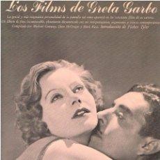 Libros de segunda mano: LOS FILMS DE GRETA GARBO. AYMÁ . Lote 56735194
