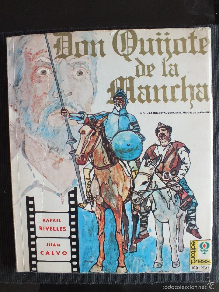 DON QUIJOTE DE LA MANCHA - FOTONOVELA DE LA PELICULA DE RAFAEL RIVELLES-JUAN CALVO 1947 EDITOR PRESS (Libros de Segunda Mano - Bellas artes, ocio y coleccionismo - Cine)