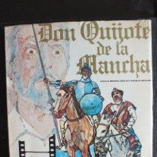 Libros de segunda mano: DON QUIJOTE DE LA MANCHA - FOTONOVELA DE LA PELICULA DE RAFAEL RIVELLES-JUAN CALVO 1947 EDITOR PRESS. Lote 56841147
