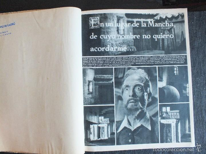 Libros de segunda mano: DON QUIJOTE DE LA MANCHA - FOTONOVELA DE LA PELICULA DE RAFAEL RIVELLES-JUAN CALVO 1947 EDITOR PRESS - Foto 5 - 56841147