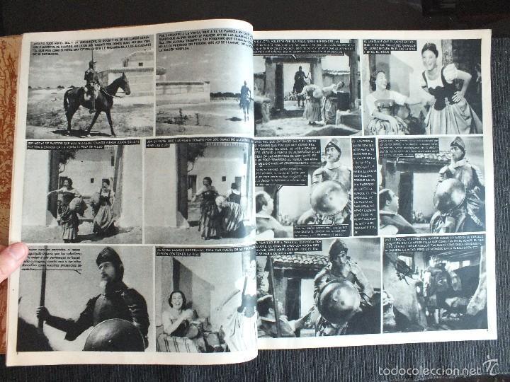 Libros de segunda mano: DON QUIJOTE DE LA MANCHA - FOTONOVELA DE LA PELICULA DE RAFAEL RIVELLES-JUAN CALVO 1947 EDITOR PRESS - Foto 6 - 56841147