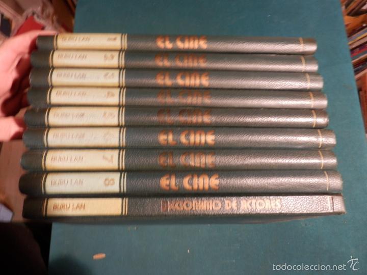 EL CINE - ENCICLOPEDIA DEL 7º ARTE - COMPLETA 9 TOMOS CON EL DICCIONARIO DE ACTORES - BURU LAN 1973 (Libros de Segunda Mano - Bellas artes, ocio y coleccionismo - Cine)