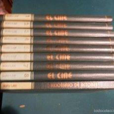 Libros de segunda mano: EL CINE - ENCICLOPEDIA DEL 7º ARTE - COMPLETA 9 TOMOS CON EL DICCIONARIO DE ACTORES - BURU LAN 1973. Lote 56889227