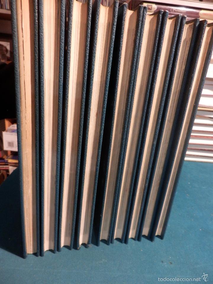Libros de segunda mano: EL CINE - ENCICLOPEDIA DEL 7º ARTE - COMPLETA 9 TOMOS CON EL DICCIONARIO DE ACTORES - BURU LAN 1973 - Foto 5 - 56889227