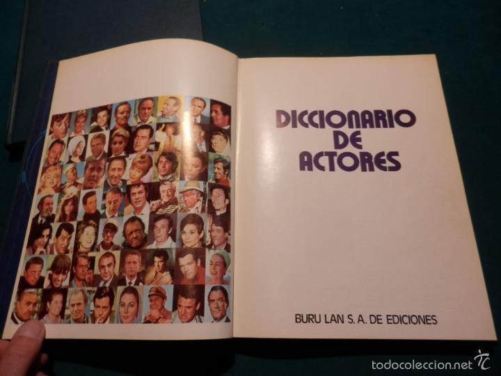 Libros de segunda mano: EL CINE - ENCICLOPEDIA DEL 7º ARTE - COMPLETA 9 TOMOS CON EL DICCIONARIO DE ACTORES - BURU LAN 1973 - Foto 8 - 56889227