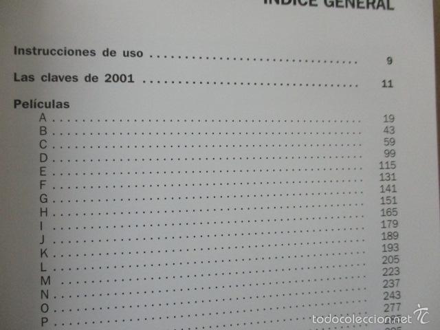 Libros de segunda mano: CINE FÓRUM 2002, CRÍTICAS, FICHA DE TODAS LAS PELÍCULAS DEL 2001 (VVAA) DOSSAT 2000 - 2002 - Foto 6 - 56975455