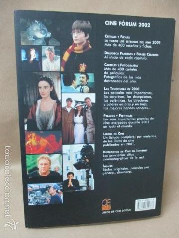 Libros de segunda mano: CINE FÓRUM 2002, CRÍTICAS, FICHA DE TODAS LAS PELÍCULAS DEL 2001 (VVAA) DOSSAT 2000 - 2002 - Foto 14 - 56975455