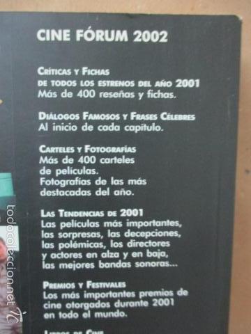 Libros de segunda mano: CINE FÓRUM 2002, CRÍTICAS, FICHA DE TODAS LAS PELÍCULAS DEL 2001 (VVAA) DOSSAT 2000 - 2002 - Foto 15 - 56975455