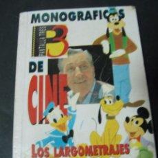 Libros de segunda mano: MONOGRAFICOS DE CINE PANTALLA 3. LOS LARGOMETRAJES ANIMADOS DE DISNEY. Lote 57127254