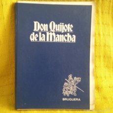 Libros de segunda mano: TOMO II DE LA SERIE DON QUIJOTE DE LA MANCHA DE EDITORIAL BRUGUERA SIN MONTAR * COMPLETO *. Lote 57141138