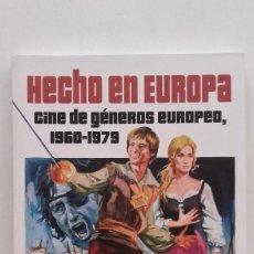 Libros de segunda mano: PEOR... ¡IMPOSIBLE! PRESENTA. HECHO EN EUROPA. CINE DE GÉNEROS EUROPEO, 1960-1979 - JAVIER G. ROMERO. Lote 218172028
