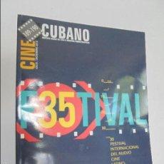 Libros de segunda mano: CINE CUBANO 189-190. VER FOTOGRAFIAS AJUNTAS. DOSSIER ALFREDO GUEVARA IN MEMORIAM. VER FOTOGRAFIAS.. Lote 57257439