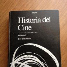 Libros de segunda mano: LIBRO HISTORIA DEL CINE VOLUMEN 1 LOS COMIENZOS SARPE. Lote 57685965