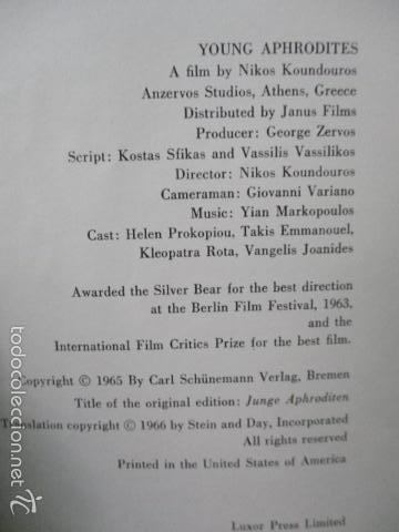 Libros de segunda mano: Young Aphrodites Tapa dura – 1966 de Nickos Kondouros (Autor) - Foto 8 - 57814902