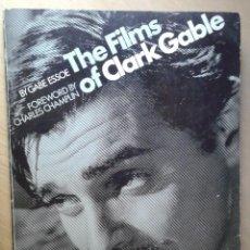 Libros de segunda mano: THE FILMS OF CLARK GABLE BY GABE ESSOE. Lote 58365539