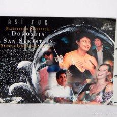 Libros de segunda mano: ASI FUE NAZIOARTEKO ZINEMALDIA DONOSTIA SAN SEBASTIAN, 43 FESTIVAL INTERNACIONAL DE CINE AÑO 1995. Lote 58594072