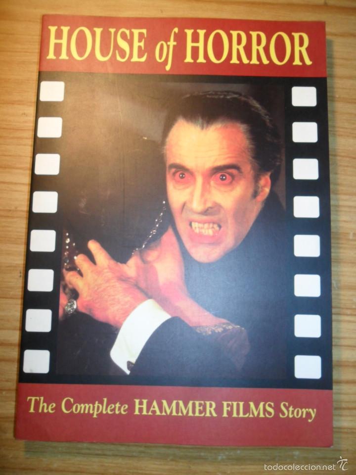 HOUSE OF HORROR - THE COMPLETE HAMMER FILMS STORY - CREATION CINEMA Nº 6 - CINE DE TERROR- EN INGLÉS (Libros de Segunda Mano - Bellas artes, ocio y coleccionismo - Cine)