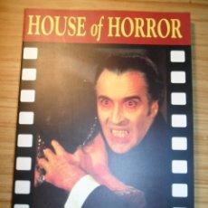 Libros de segunda mano: HOUSE OF HORROR - THE COMPLETE HAMMER FILMS STORY - CREATION CINEMA Nº 6 - CINE DE TERROR- EN INGLÉS. Lote 58631194