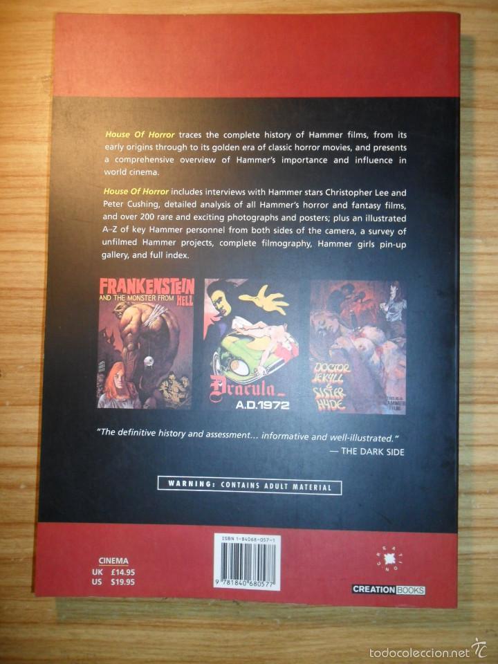 Libros de segunda mano: House of horror - The complete Hammer films story - Creation cinema nº 6 - cine de terror- en inglés - Foto 2 - 58631194