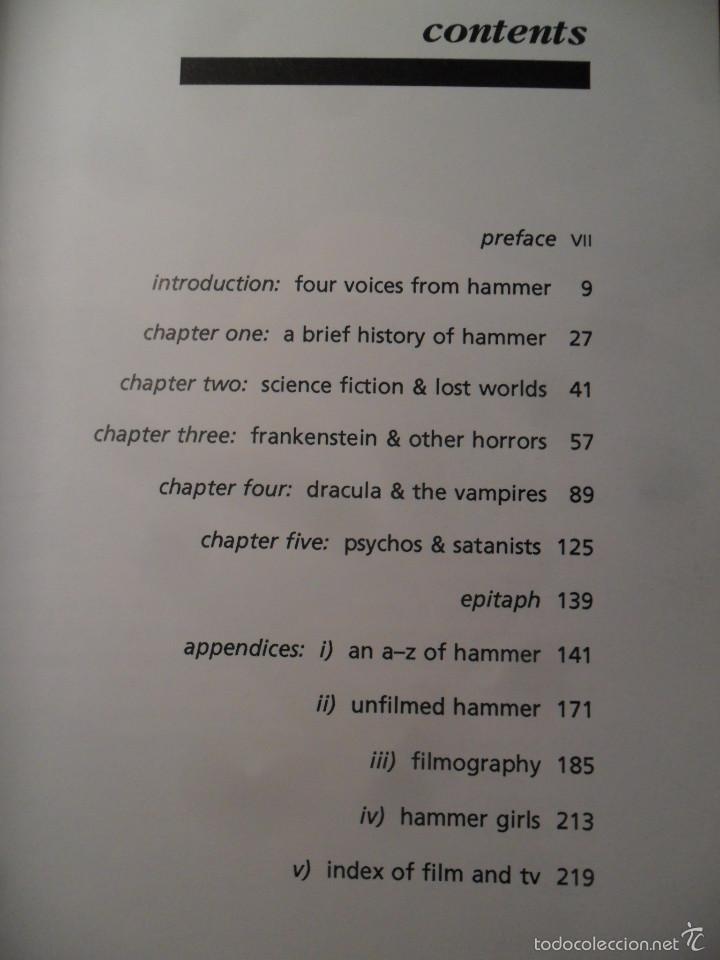 Libros de segunda mano: House of horror - The complete Hammer films story - Creation cinema nº 6 - cine de terror- en inglés - Foto 3 - 58631194