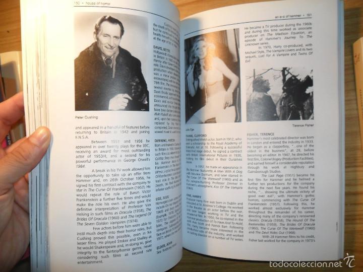 Libros de segunda mano: House of horror - The complete Hammer films story - Creation cinema nº 6 - cine de terror- en inglés - Foto 6 - 58631194