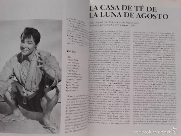 Libros de segunda mano: LAS PELICULAS DE MARLON BRANDO - TONY THOMAS - EDITORIAL ODIN - 1995 - CINE - Foto 5 - 194242000