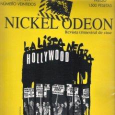 Libros de segunda mano: NICKEL ODEON Nº 22 : MCCARTHY Y LA INQUISICIÓN EN EL CINE . Lote 59010065