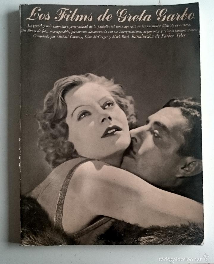 LOS FILMS DE GRETA GARBO (Libros de Segunda Mano - Bellas artes, ocio y coleccionismo - Cine)
