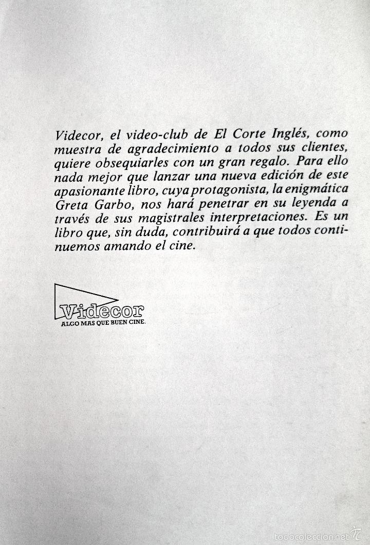Libros de segunda mano: LOS FILMS DE GRETA GARBO - Foto 2 - 60003667
