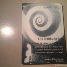 Libros de segunda mano: KAY HOFFMANN / URSULA VON KEITZ.DIE EINÜBUNG DOKUMENTARISCHEN. SCHÜREN 2001. EXPRESIONISMO.RARO.. Lote 60088731