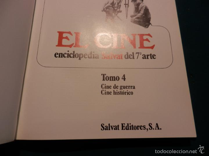 Libros de segunda mano: EL CINE - TOMO 4 (CINE DE GUERRA - CINE HISTÓRICO)) ENCICLOPEDIA SALVAT DEL 7º ARTE - Foto 2 - 60560519