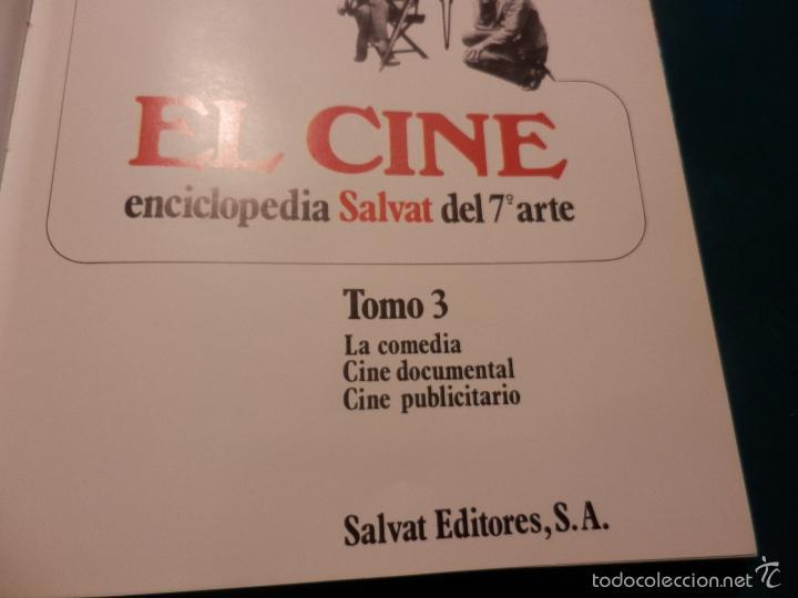Libros de segunda mano: EL CINE - TOMO 3 (LA COMEDIA - CINE DOCUMENTAL - CINE PUBLICITARIO) ENCICLOPEDIA SALVAT DEL 7º ARTE - Foto 2 - 60560587