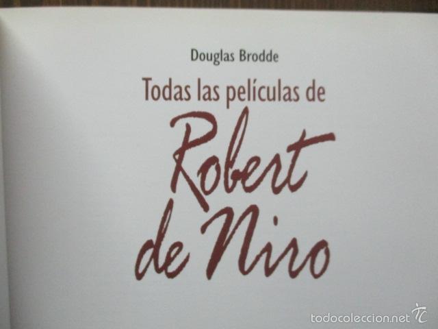 Libros de segunda mano: ANTOLOGIA DEL CINE CLASICO. TODAS LAS PELICULAS DE ROBERT DE NIRO. MITOS DEL CINE - Libro como nuevo - Foto 5 - 61646136