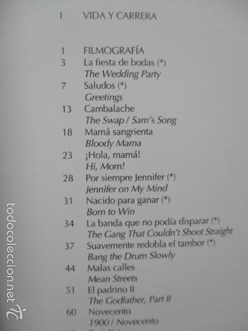 Libros de segunda mano: ANTOLOGIA DEL CINE CLASICO. TODAS LAS PELICULAS DE ROBERT DE NIRO. MITOS DEL CINE - Libro como nuevo - Foto 8 - 61646136