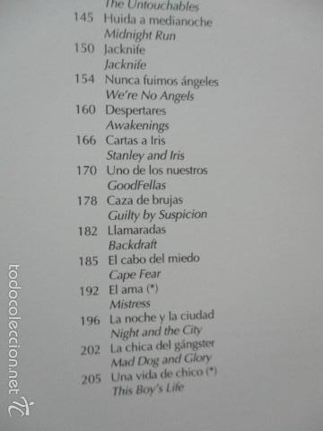 Libros de segunda mano: ANTOLOGIA DEL CINE CLASICO. TODAS LAS PELICULAS DE ROBERT DE NIRO. MITOS DEL CINE - Libro como nuevo - Foto 9 - 61646136
