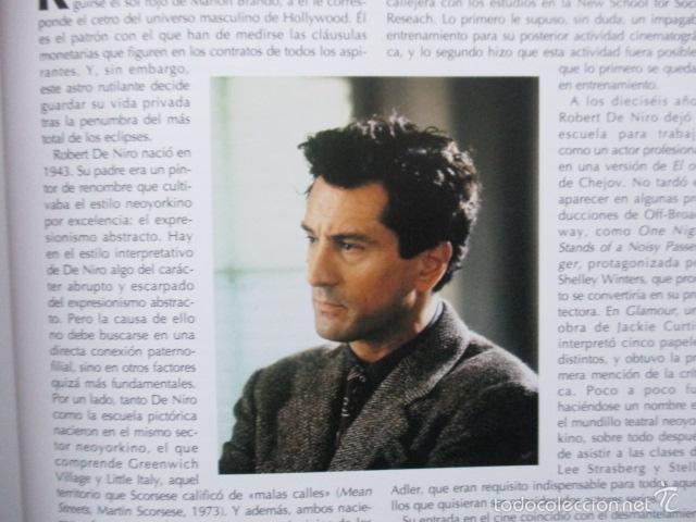 Libros de segunda mano: ANTOLOGIA DEL CINE CLASICO. TODAS LAS PELICULAS DE ROBERT DE NIRO. MITOS DEL CINE - Libro como nuevo - Foto 10 - 61646136