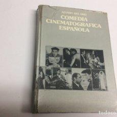 Libros de segunda mano: COMEDIA CINEMATOGRAFICA ESPAÑOLA / ALVARO DEL AMO - ED. CUADERNOS PARA EL DIALOGO 1975. Lote 62331587
