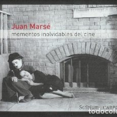 Libros de segunda mano: MOMENTOS INOLVIDABLES DEL CINE, JOAN MARSÉ, ED.CARROGGIO. Lote 177986025