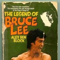 Libros de segunda mano: BLB-062 THE LEGEND OF BRUCE LEE 1974 LIBRO FOTOGRAFICO RARO. ALEX BEN BLOCK PORTADA OPERACION DRAGON. Lote 12233003