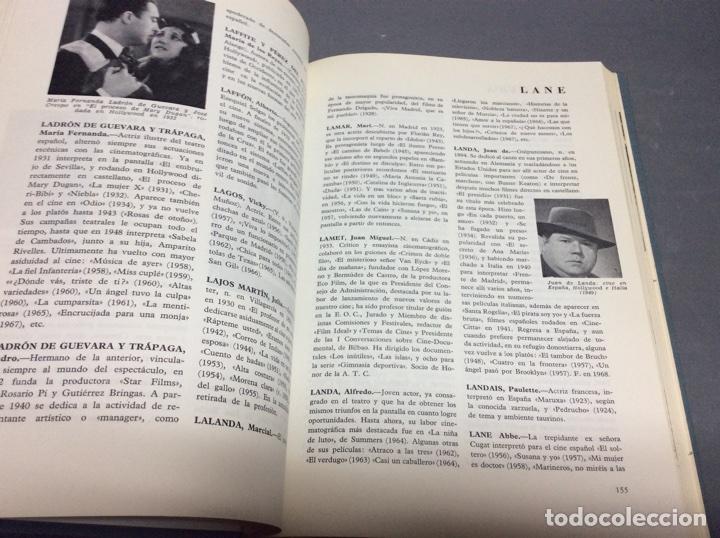 Libros de segunda mano: DICCIONARIO DEL CINE ESPAÑOL 1896-1966 / FERNANDO VIZCAÍNO CASAS -ED. EDITORA NACIONAL AÑO 1968 - Foto 3 - 64727717