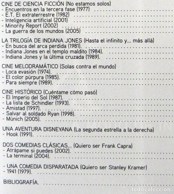 Libros de segunda mano: STEVEN SPIELBERG DE DUEL A MÚNICH EN BUSCA LA PELÍCULA PERFECTA LIBRO DIRECTOR CINE INDIANA JONES ET - Foto 4 - 66197070