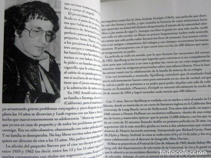 Libros de segunda mano: STEVEN SPIELBERG DE DUEL A MÚNICH EN BUSCA LA PELÍCULA PERFECTA LIBRO DIRECTOR CINE INDIANA JONES ET - Foto 5 - 66197070