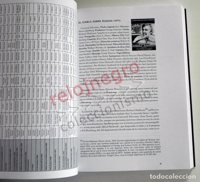 Libros de segunda mano: STEVEN SPIELBERG DE DUEL A MÚNICH EN BUSCA LA PELÍCULA PERFECTA LIBRO DIRECTOR CINE INDIANA JONES ET - Foto 6 - 66197070