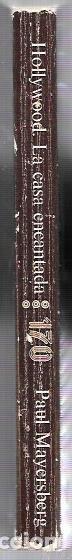 Libros de segunda mano: HOLLYWOOD LA CASA ENCANTADA. PAUL MAYERSBERG. CINEMATECA ANAGRAMA. 1971. 228 PAGS. 18,5X11,7 - Foto 3 - 66376994