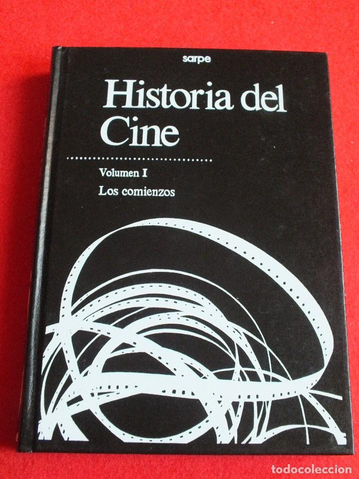 CINE HISTORIA DE CINE VOLUMEN I LOS COMIENZOS PELÍCULAS CINE MUDO COMIENZO CINE SONORO (Libros de Segunda Mano - Bellas artes, ocio y coleccionismo - Cine)