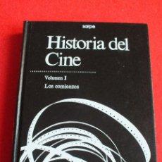 Libros de segunda mano: CINE HISTORIA DE CINE VOLUMEN I LOS COMIENZOS PELÍCULAS CINE MUDO COMIENZO CINE SONORO. Lote 67136221